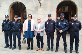 Inca incorpora tres nuevos policías locales