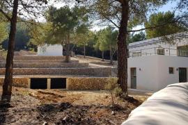 El Consell investiga una casa situada en ANEI en el camino hacia ses Torres d'en Lluc
