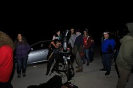 La Agrupació Astronòmica hace actividades de divulgación en Formentera y Jesús