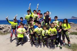 Los jóvenes pilotos se dan cita en Sant Josep