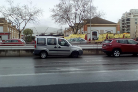 Desalojada la Estación Intermodal de Palma por un incendio en el vagón de un tren