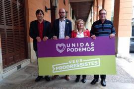 Pep Malagrava, de Unidas Podemos, y Rosa Cursach, de Veus Progressistes