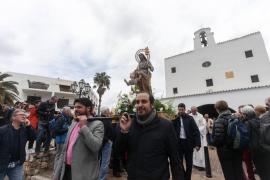 Sant Josep puede con la lluvia