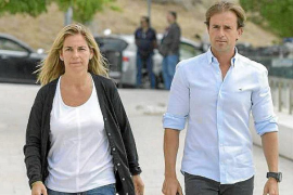 Arantxa Sánchez Vicario y Josep Santana.
