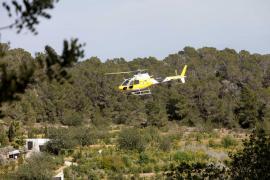 El incendio forestal en Sant Mateu, en imágenes (Fotos: Daniel Espinosa).