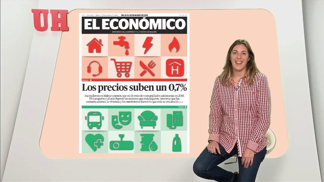 Comunicaciones, vivienda y suministros, los precios que más suben en Baleares en 2018