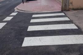 Reabierta al tráfico la calle Marí Mayans de Puig d'en Valls tras las mejoras de la accesibilidad y drenaje
