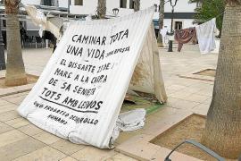Formentera se solidariza con los refugiados de Lesbos