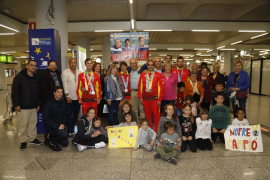 Los héroes de Abu Dabi regresan a Mallorca tras los Special Olympics