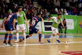 El Palma Futsal sella el playoff con una actuación sobresaliente (6-0)