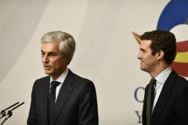 Casado elige a Adolfo Suárez como su número dos por Madrid en la lista del PP al Congreso