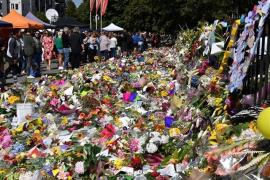 El sospechoso de incendiar una mezquita de California dejó un grafiti en referencia al atentado de Christchurch
