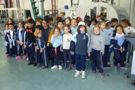 Alumnes del Col·legi Sant Francesc de Manacor varen visitar Son Moix i Grup Serra
