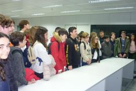 Alumnes de IES Porto Cristo varen visitar la Planta Impressora del Grup Serra i Endesa
