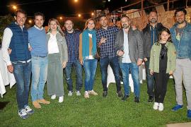 Fiesta de inauguración del hotel Es Corte Vell, en Bunyola