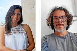Isabel Martín, de Menorca Creativa, y Joan Miqueo, de Tiqueteros