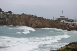 La Aemet activa la alerta amarilla en Ibiza por fuerte oleaje