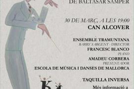 '3 danses mallorquines per a piano i cordes' de Baltasar Samper, en Can Alcover