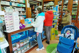 Imagen de una farmacia en las Islas