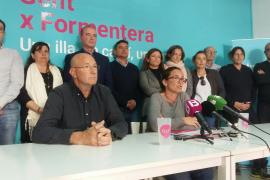 Gent per Formentera muestra su apoyo a los procesados por el 'caso Punta Prima'