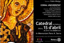 El concierto benéfico de Projecte Home en la Catedral, en memoria de Pere A. Serra