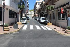 Finalizan las obras para hacer más accesibles las calles Osca, Sant Joan y Rodríguez de Valcárcel