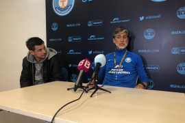 La UD Ibiza reconoce la posible salida de Chavero