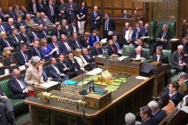 La Cámara de los Comunes tumba por tercera vez el acuerdo del Brexit de May