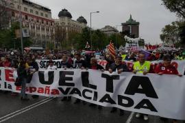 'La España vaciada' llena el centro de Madrid para reclamar medidas concretas contra la despoblación rural