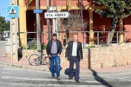 Marcos Serra propone liberar de tráfico el pueblo de Sant Rafel