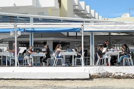 Turistas en Semana Santa 2018 en Eivissa.