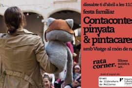 Fiesta familiar con 'Viatge al món de n'Aina' en Rata Corner