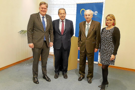 Presentación del proyecto de Cabotá en la UE