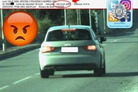 Sorprendido otro conductor circulando a 102 kilómetros por hora en Sant Josep
