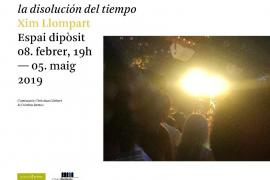 Xim Llompart presenta 'La disolución del tiempo' en el Casal Solleric