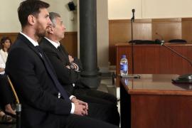 Leo Messi y Jorge Messi