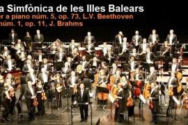 Concierto de la Orquestra Simfònica de les Illes Balears en el Auditori de Manacor