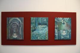 María Luisa Medina descubre en una exposición sus 'Paisajes interiores'
