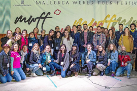 Voluntarios del Mallorca World Folk Festival