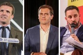 PP, Ciudadanos y Vox se muestran favorables a un pacto tras las elecciones generales