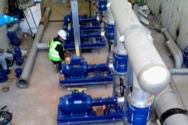 Instalan cinco bombas de impulsión para llevar agua potable a todo Sant Josep