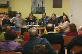Sa Unió de Formentera se ha reunido ya con más de 350 vecinos