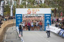La prueba del 12 K del Ibiza Marathon, en imágenes (Fotos: Anita de Austria).
