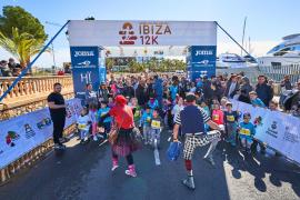 La prueba del Ibiza Kids Run CaixaBank, en imágenes