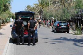 El autor del atropello en Playa de Palma huyó con un compinche que le esperaba en un coche