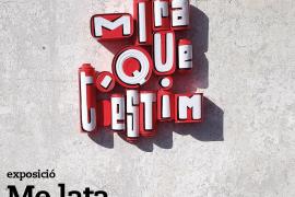 Exposición en Rata Corner 'Mira que t'estim' de los artistas urbanos Me Lata