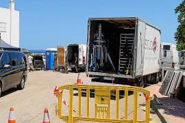 Rodaje de una serie de Netflix, el pasado verano en la Isla