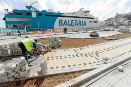 Sorpresa y preocupación en la Marina por el retraso en las obras de los tanques de tormentas