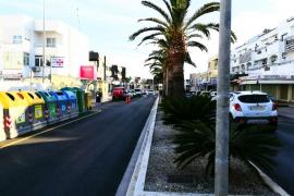Sant Josep invierte más de 522.000 euros en mejoras de calles de Playa d'en Bossa y Cala de Bou