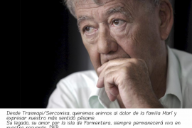 Hasta siempre, Alonso Marí Calbet